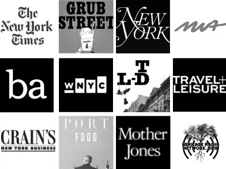 [logos of top magazines]